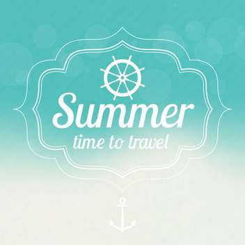 summer sale design emblems set - vector gratuit #134124