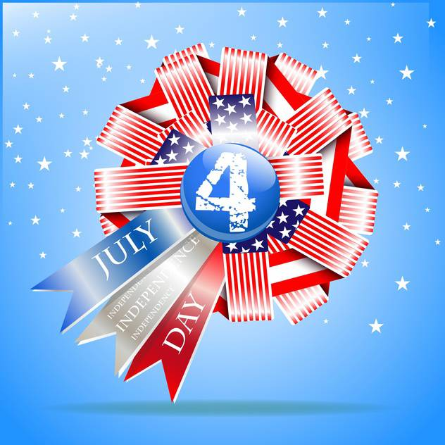 usa independence day illustration - Free vector #134144