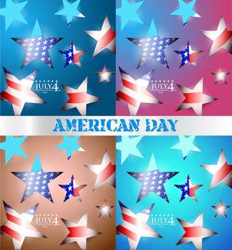 usa independence day illustration - Free vector #134154
