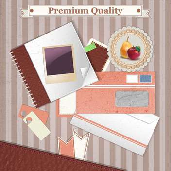 premium quality vintage background - vector gratuit #134674
