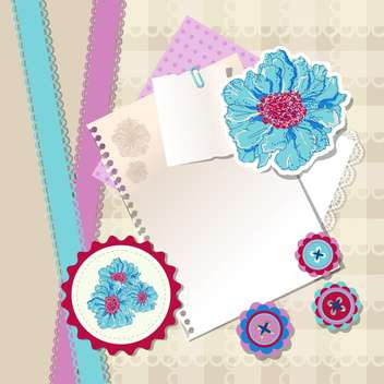 art vintage notepads illustration - vector #134734 gratis